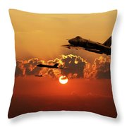 Vulcans Inbound Throw Pillow