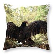 Vulture 429 Throw Pillow