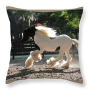 Vv King William #2 Throw Pillow