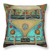 Vw Van Throw Pillow