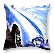 Vw Vintage Sports Car Throw Pillow