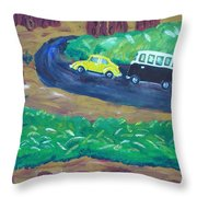 Vws In The Redwoods Throw Pillow