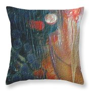 W 003 - Double Moon Throw Pillow