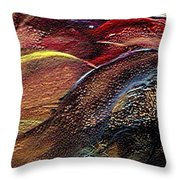 W 010- Hills Throw Pillow