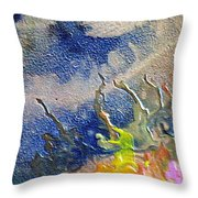 W 020 - The Coral Throw Pillow