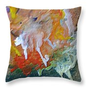 W 025 Throw Pillow