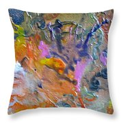 W 027 Throw Pillow