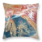 W 033 Throw Pillow