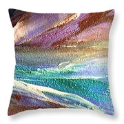 W 034-comet Throw Pillow