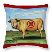 W T F Throw Pillow