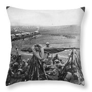 W W I: Battle Of Verdun Throw Pillow