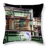 Wa State Convention And Trade Center Throw Pillow