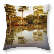 Waccamaw River Throw Pillow