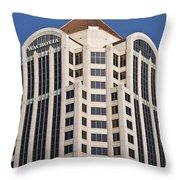 Wachovia Tower Roanoke Virginia Throw Pillow