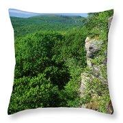 Wachusett Mountain From Crow Hill Throw Pillow