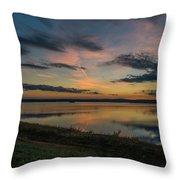 Wachusett Reservoir  Throw Pillow