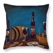 Waco Winery Throw Pillow