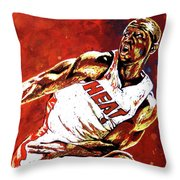 Wade Passes Throw Pillow by Maria Arango