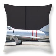 Wafb 09 Mig 17 Russian  Throw Pillow