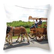Wagon 13 Throw Pillow