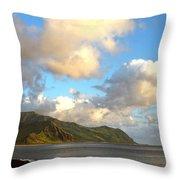 Waianae Coast Hawaii  Throw Pillow