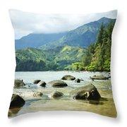 Waikoko On Kauai Throw Pillow