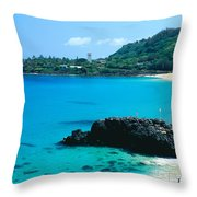 Waimea Bay Throw Pillow