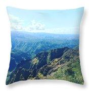 Waimea Canyon, Kauai Throw Pillow