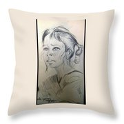 Wait Throw Pillow