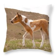 Wait Up Mom Throw Pillow
