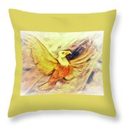 Wait Upon The Lord Throw Pillow