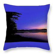 Waiting At The Edge Of Paradise Throw Pillow