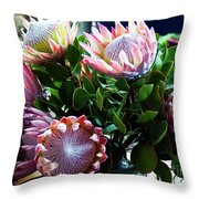 Waiting For A Buyer Throw Pillow