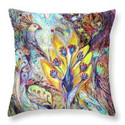 Waiting For A Miracle Throw Pillow