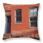 Waiting For Beckett Throw Pillow