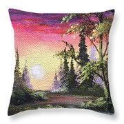 Waiting For Change Throw Pillow