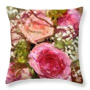 Waiting For Company  Throw Pillow