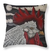 Waiting For Daybreak Throw Pillow