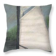 Waiting For Dolphins Throw Pillow