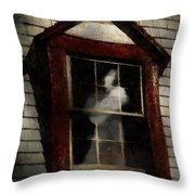 Waiting For Henry Throw Pillow