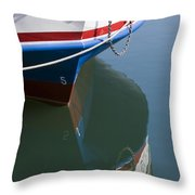 Waiting For Passangers Throw Pillow