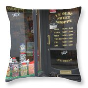 Waiting For Sweets Throw Pillow