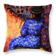 Waiting For The Appointed Time Throw Pillow
