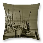 Waiting For The Big Catch  Throw Pillow