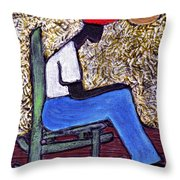 Waiting For The Dream Throw Pillow