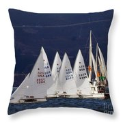 Waiting For The Moment Throw Pillow