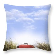 Waiting For The Next Trip Throw Pillow