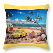 Waiting For The Racq Throw Pillow