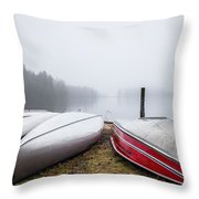 Waiting For The Right Season Throw Pillow