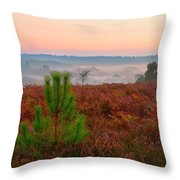 Waiting For The Sunrise Throw Pillow